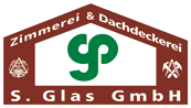S. Glas GmbH - Zimmerei und Dachdeckerei - Logo